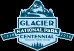 Photo of Glacier National Park Centennial Logo