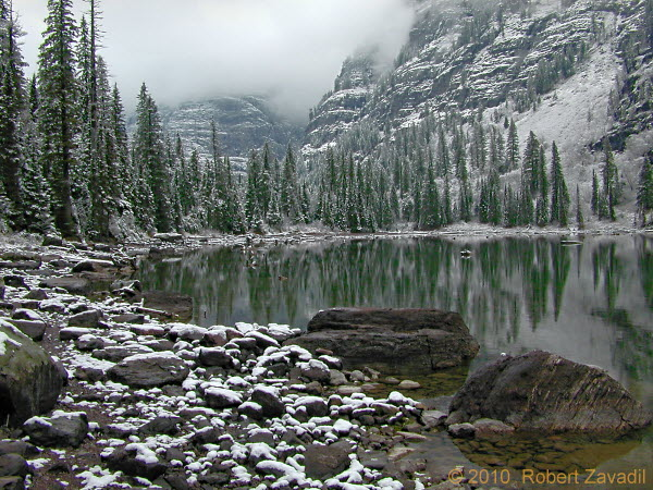 Photo of Avalanche Lake in Glacier National Park