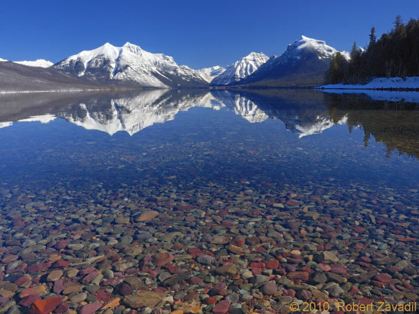 Lake McDonald in Glacier National Park