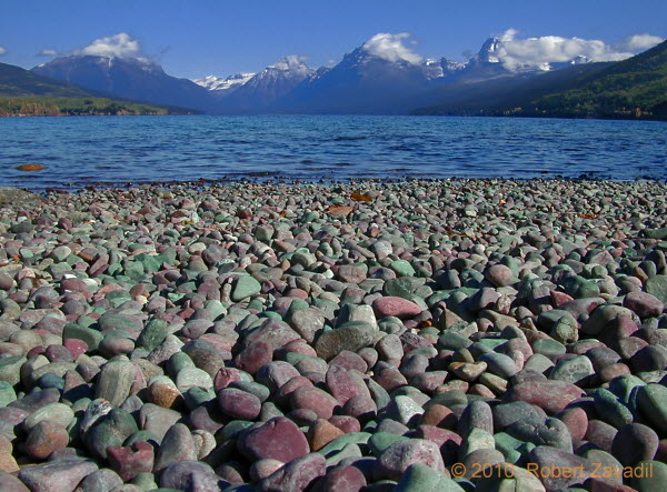 Photo of Lake McDonald Beach in Glacier National Park