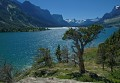 Photo of summer on St Mary Lake in Glacier National Park