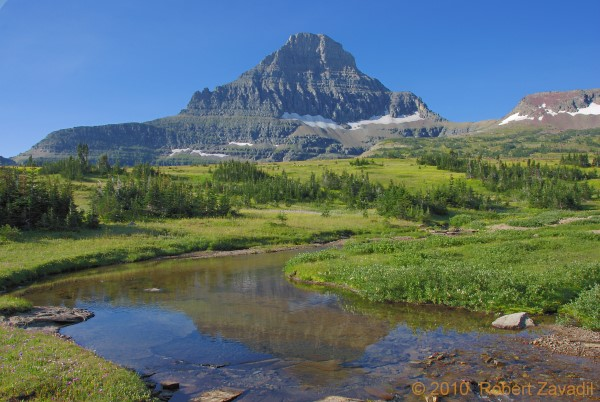 Alpine Scene in Glacier National Park