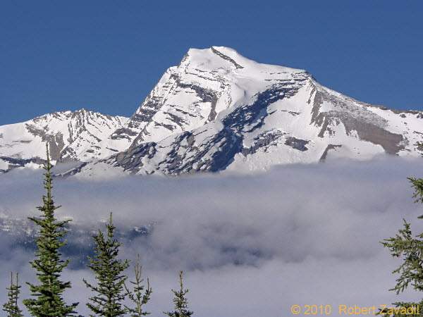 Photo of Heavens Peak in Glacier National Park
