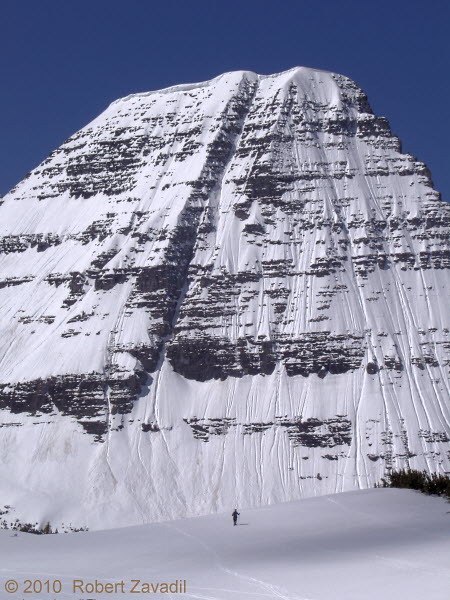 Photo of Bearhat Mountain in Glacier National Park